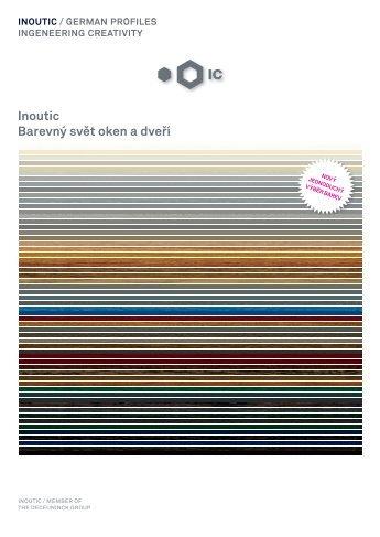 Brožura barvy - Inoutic