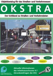 Broschüre - OKSTRA - Objektkatalog für das Straßen