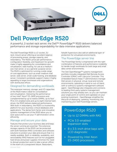 Dell PowerEdge R520