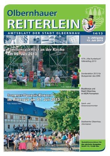 Ausgabe 14/2013 - Olbernhau
