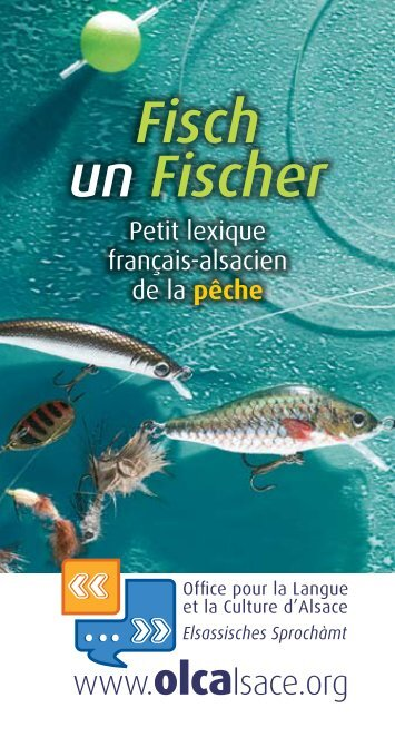 Télécharger le lexique français-alsacien de la pêche - Olca