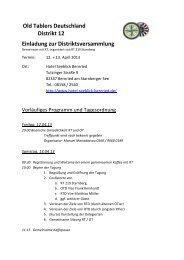 Agenda DM 13-04-13 in Starnberg - Old-Tablers Deutschland