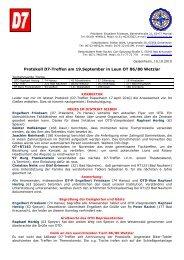 D7 Protokoll Leun - Old-Tablers Deutschland