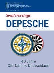 40 Jahre Old Tablers Deutschland 40 Jahre Old Tablers Deutschland