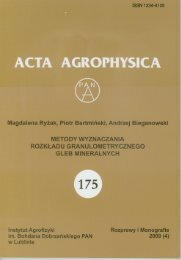 Untitled - Acta Agrophysica