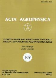 Untitled - Acta Agrophysica