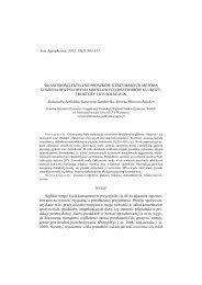 Materiały i metodyka - Lublin