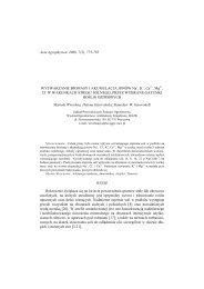 Acta Agrophysica, 2006, 7(3), 775-785 WYTWARZANIE BIOMASY I ...
