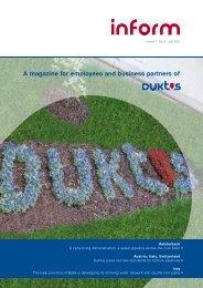 inform 07.2011 e (pdf-file 3,98 MB - Duktus