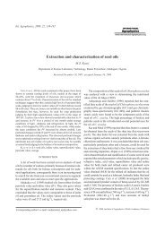 Extraction and characterization of seed oils - International Agrophysics