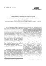 Moisture dependent physical properties of cucurbit ... - ResearchGate