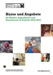 Kurse und Angebote für Kinder, Jugendliche und ... - ffpratteln.ch