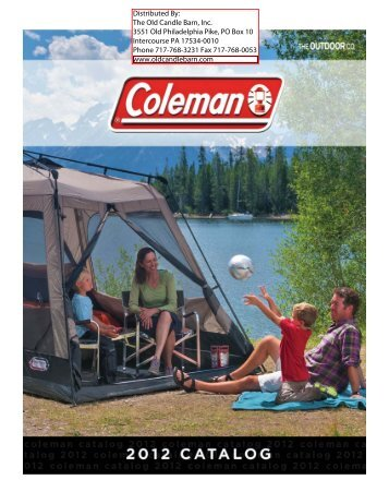 Old Candle Barn - Coleman Catalog 2012