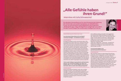 Gefühle haben ihren Grund! - Oldenbourg Verlag
