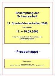 Pressemappe 11. Bundesfahndertreffen - Landkreis Oldenburg