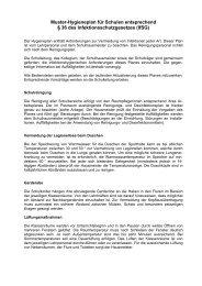 Hygieneplan für Grundschulen - Landkreis Oldenburg