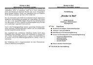 Fortbildung zum Schutzauftrag nach §8a SGB VIII für ...