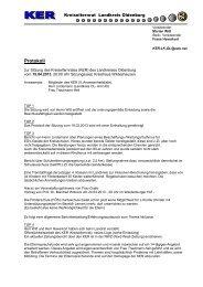 Protokoll - Landkreis Oldenburg