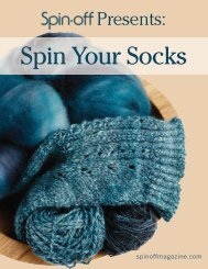 Spin-Off Presents: Spin Your Socks - Knitting Paradise