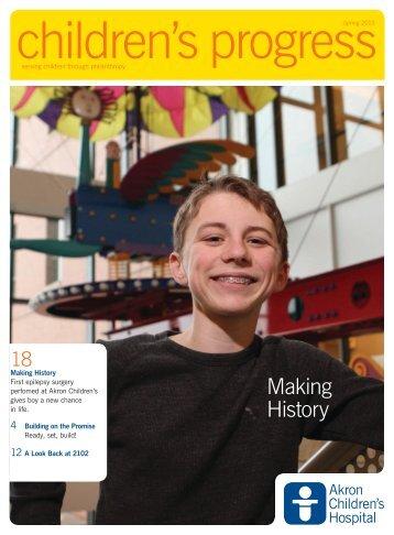 Making History - Akron Children's Hospital