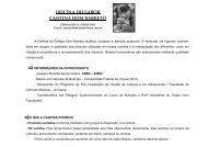 CANTINA apresentação 2011 - Colégio Dom Barreto