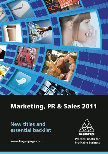 Marketing, PR & Sales 2011 - Kogan Page
