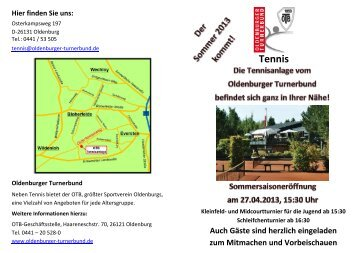 Tennis - Oldenburger Turnerbund