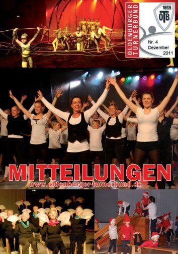 OTB-Mitteilungen 4/2011 - Oldenburger Turnerbund