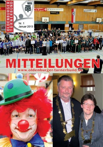OTB-Mitteilungen 1/2013 - Oldenburger Turnerbund