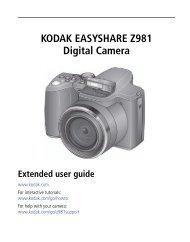 KODAK EASYSHARE Z981 Digital Camera