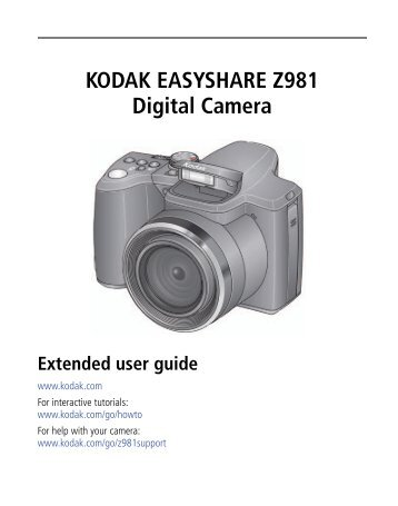 kodak easyshare max camera z990 etilize rh yumpu com Kodak EasyShare C1530 Manual Kodak EasyShare C1550 Manual