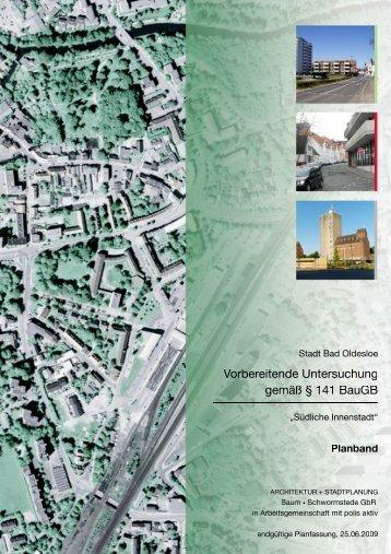 """Vorbereitende Untersuchung """"Südliche Innenstadt"""" - Bad Oldesloe"""
