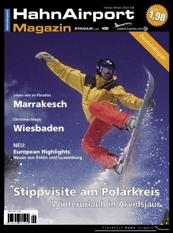 HahnAirport Magazin