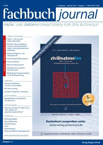 PDF (8.6 MB) - Fachbuch-Journal