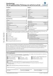 Kfz-Kaufvertrag - Oldieversicherung