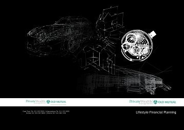 Lifestyle Financial Planning - Old Mutual