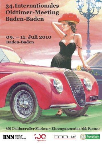 Hier - Oldtimer-Meeting Baden-Baden