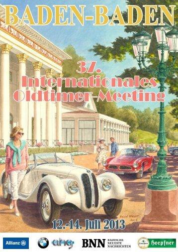 bmw – automobile mit grosser tradition - Oldtimer-Meeting Baden ...