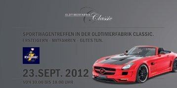 23.SEPT. 2012 - Oldtimerfabrik Classic
