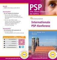 Internationale PSP-Konferenz 2014