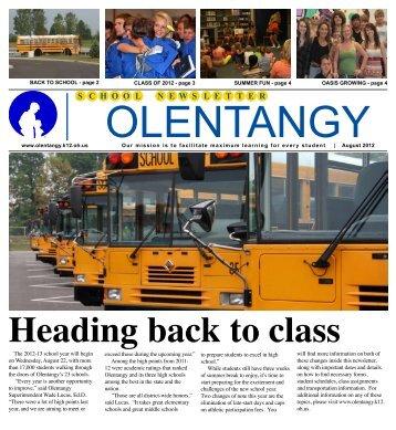 W S C H O O L N E S L E T T E R - Olentangy Local Schools