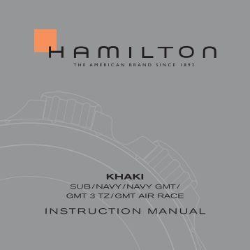 KHAKI INSTRUCTION MANUAL