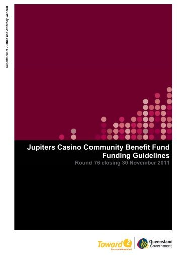 JCCBF Round 76 funding guidelines closing 30 Nov 2011