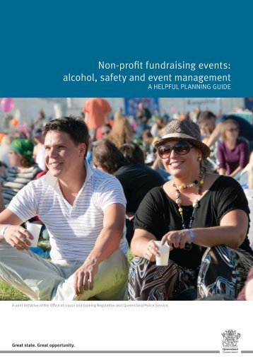 non-profit fundraising events planning guide - Office of Liquor ...