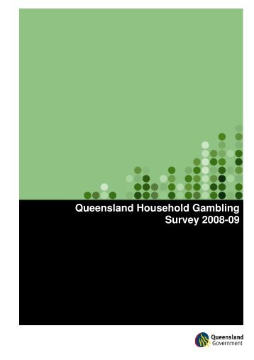 Queensland household gambling survey 2008-09 casino robert deniro theme song