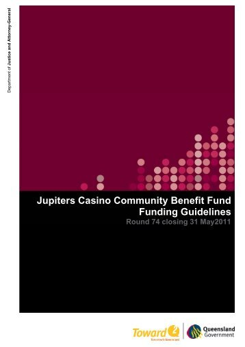 JCCBF Round 74 funding guidelines closing 31 May 2011