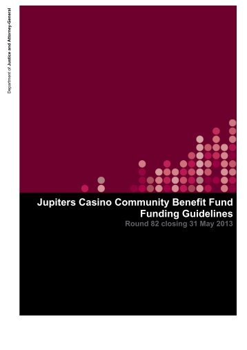 JCCBF Round 82 funding guidelines closing 31 May 2013