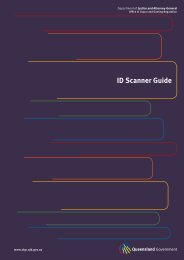 ID scanner guide (PDF 290 K) - Office of Liquor, Gaming and Racing ...