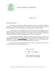 October 2, 2012 Dear Monsignor/Father, Since ... - Olguadalupe.org