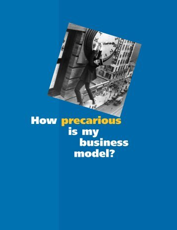 How precarious is my business model? - Oliver Wyman